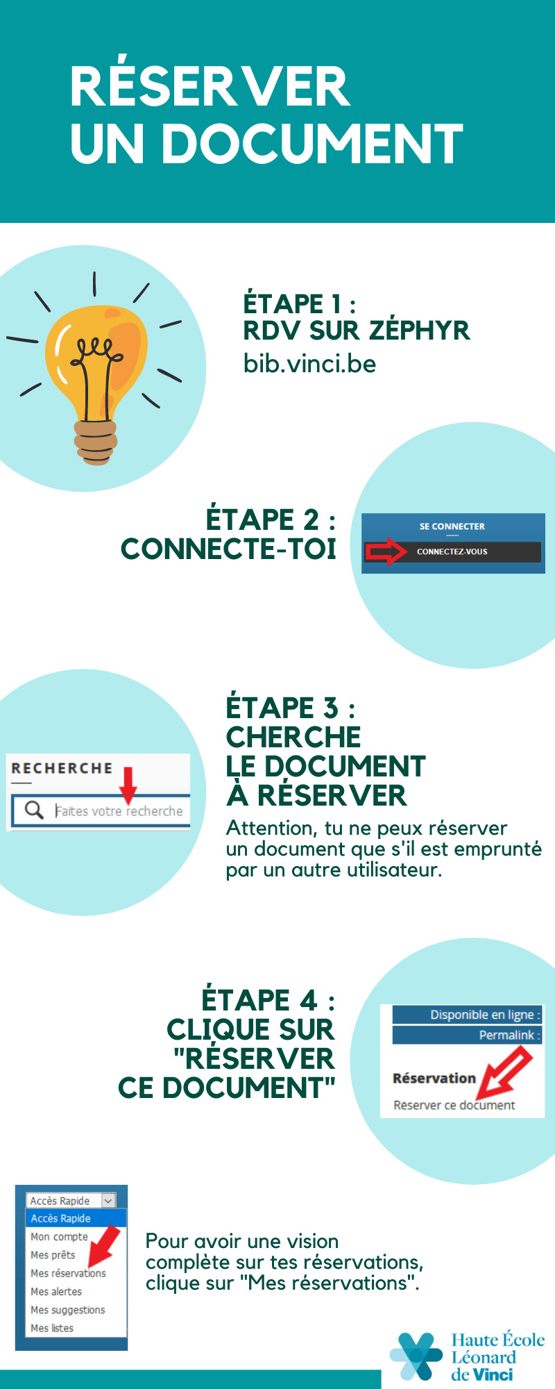 Tutoriel réserver un document